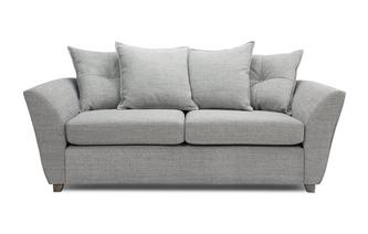 3 Seater Pillow Back Deluxe Sofa Bed Elban