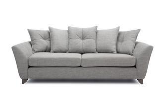 4 Seater Pillow Back Sofa Elban