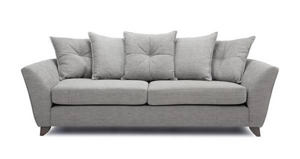 Elban 4 Seater Pillow Back Sofa