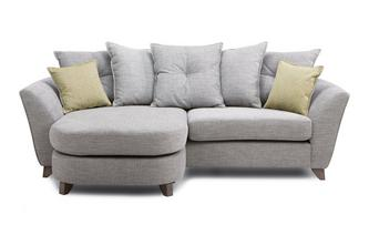 4 Seater Pillow Back Lounger