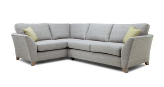 Elban Right Hand Facing 3 Seater Formal Back Corner Sofa