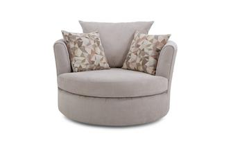Large Swivel Chair Sherbet