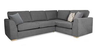 Eleanor Left Hand Facing 2 Seater Corner Sofa