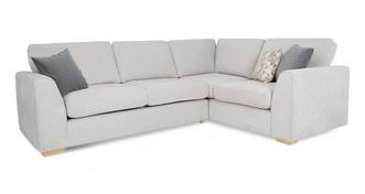 Eleanor Left Hand Facing Deluxe Corner Sofa Bed