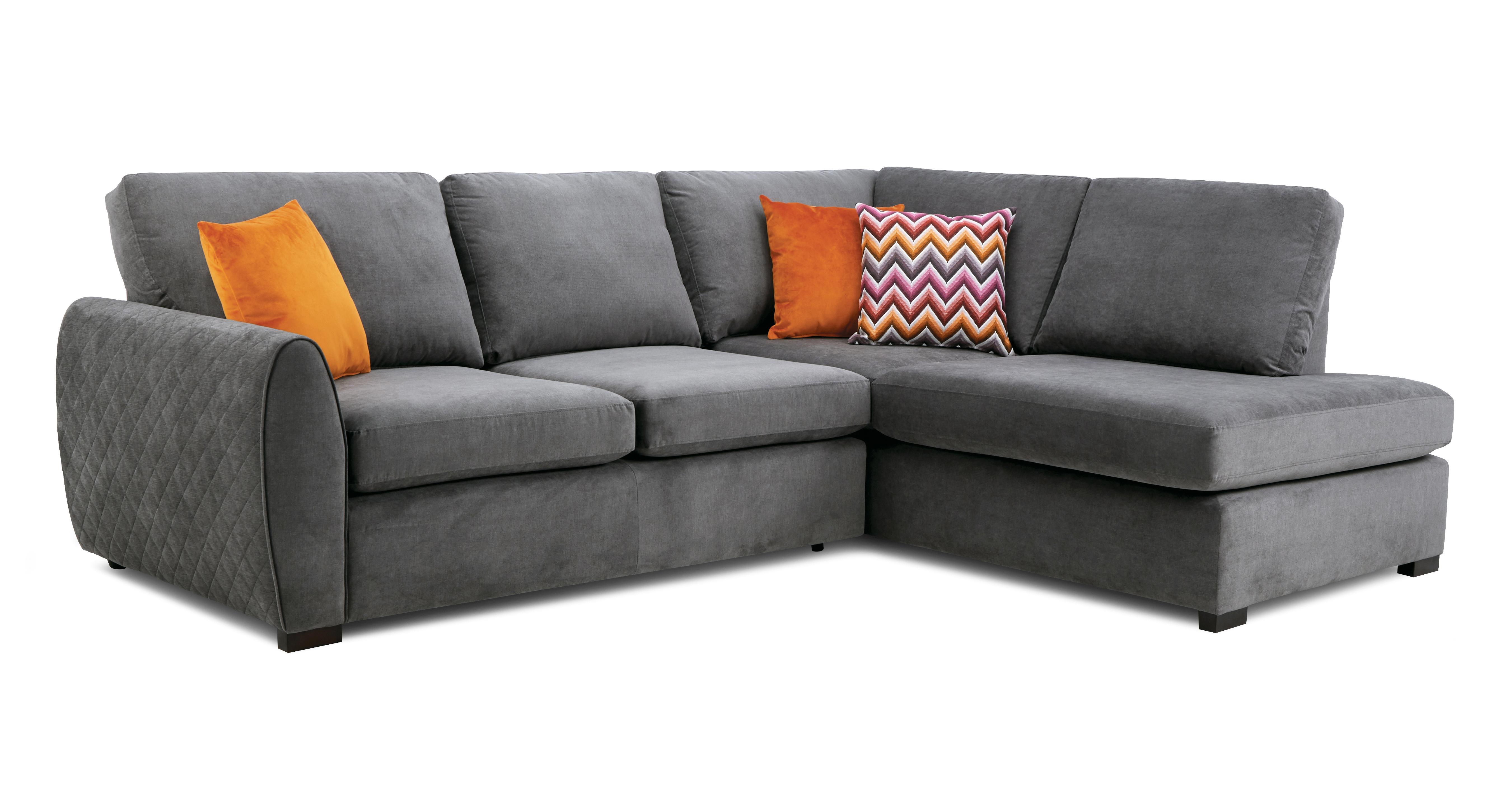 Electron Left Hand Facing Arm Open End Corner Sofa Plaza Dfs