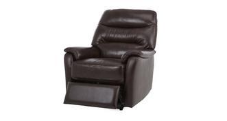 Elegant Handbediende recliner stoel