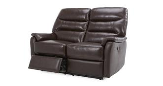 Elegant 2-zitter handbediende recliner