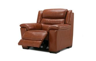 Elgar Power Plus Recliner Chair Brazil with Leather Look Fabric