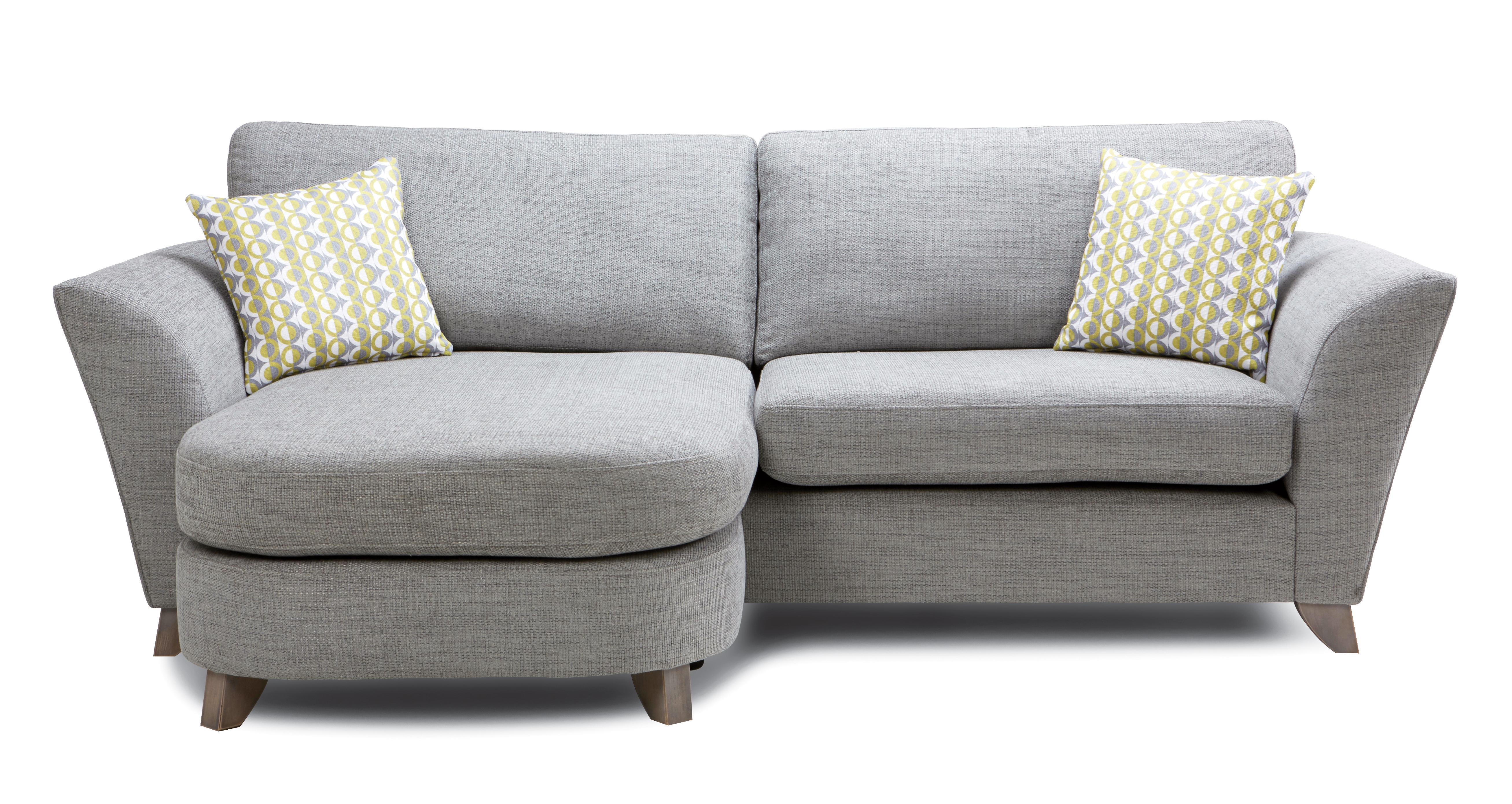 GXD Eliana Formal Back 4 Seater Lounger Sofa