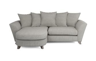 Eliana Pillow Back 4 Seater Lounger Sofa Eliana