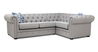 Eliza Left Hand Facing Arm 2 Seater Corner Sofa