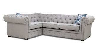Eliza Right Hand Facing Arm 2 Seater Corner Sofa