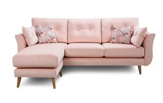 4 Seater Lounger Sofa Ella