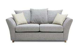 Large 2 Seater Pillow Back Sofa Bed Ellaria