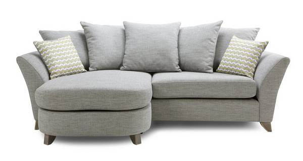 Ellaria 4 Seater Pillow Back Lounger
