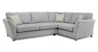 Ellaria Left Hand Facing 3 Seater Formal Back Corner Sofa