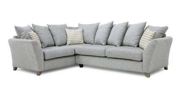 Ellaria Right Hand Facing 3 Seater Pillow Back Corner Sofa