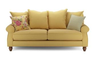 Ellie Plain 3 Seater Sofa Ellie Plain