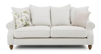 Ellie Plain 3 Seater Sofa