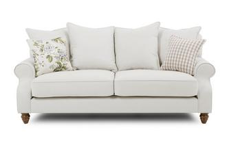 Plain 3 Seater Sofa Ellie Plain