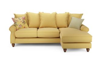 Ellie Plain Right Hand Facing 4 Seater Chaise End Sofa Ellie Plain