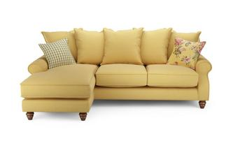 Ellie Plain Left Hand Facing 4 Seater Chaise End Sofa Ellie Plain