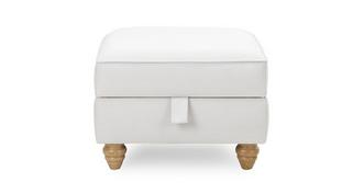 Ellie Plain Storage Footstool