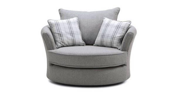 Elliott Plain Swivel Chair