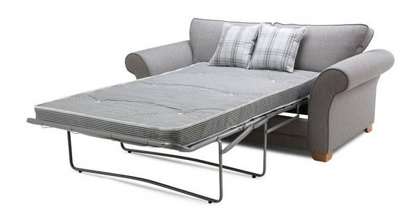 Elliott Plain 2 Seater Formal Back Deluxe Sofa Bed
