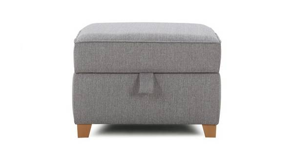 Elliott Plain Storage Footstool
