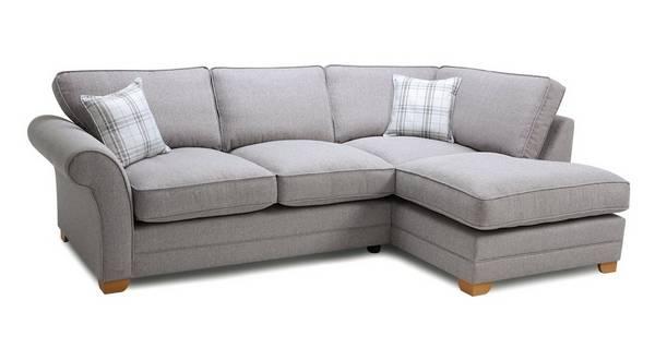 Elliott Plain Left Hand Facing Arm Formal Back Corner Sofa