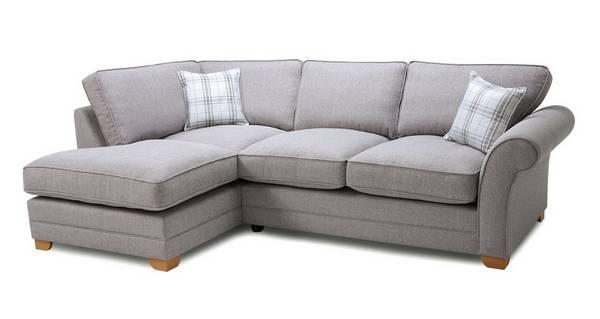 Elliott Plain Right Arm Facing Formal Back Corner Sofa Bed