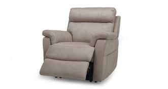 Ellis Fabric Manual Recliner Chair