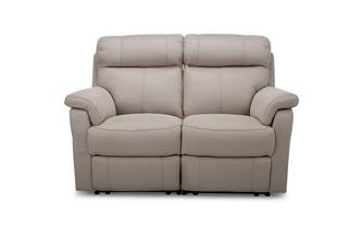 Fabric 2 Seater Manual Recliner