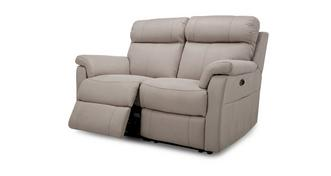 Ellis Fabric 2 Seater Electric Recliner