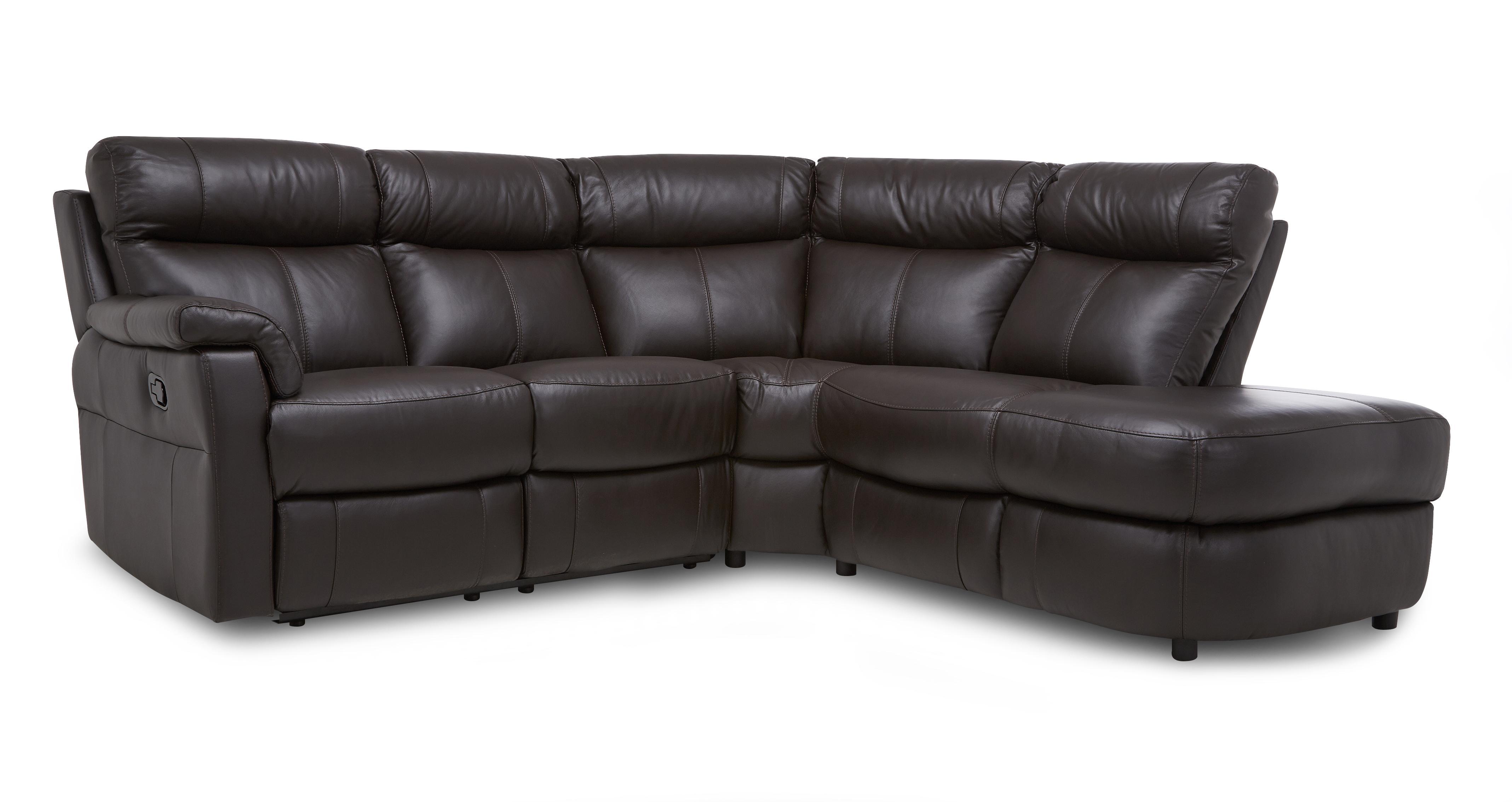 About the Ellis: Option B Left Arm Facing 2 Piece Manual Recliner Open End  Corner Sofa