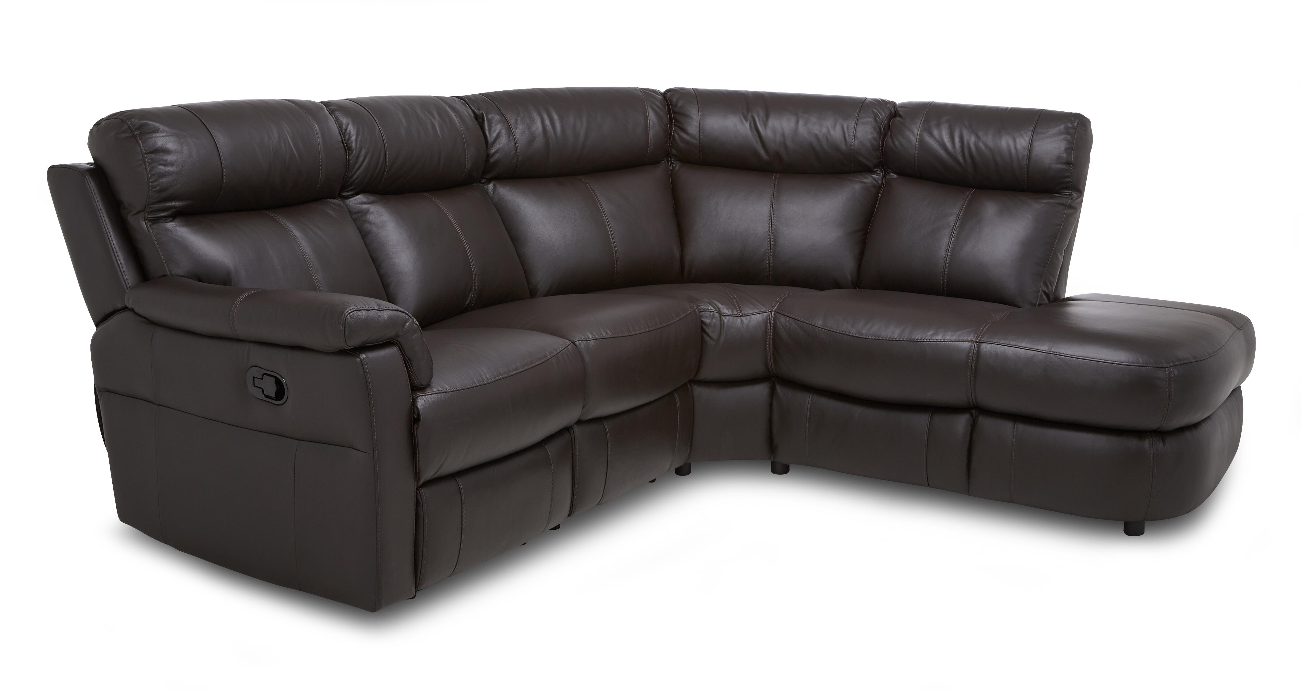 Ellis Option B Left Arm Facing 2 Piece Manual Recliner Corner Sofa  Essential | DFS