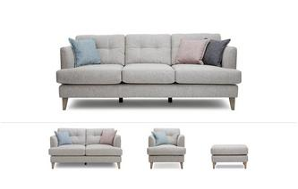 Ellison Clearance Grande Sofa, Medium Sofa, Armchair and Footstool Ellison
