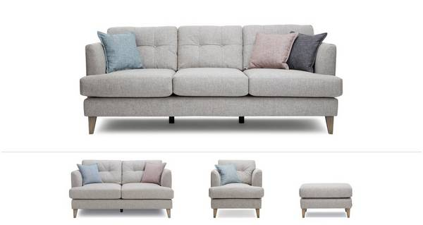 Ellison Clearance Grande Sofa, Medium Sofa, Armchair and Footstool