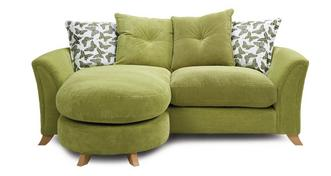 Eloise Pillow Back 3 Seater Lounger Sofa