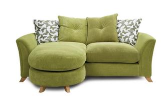Pillow Back 3 Seater Lounger Sofa Eloise