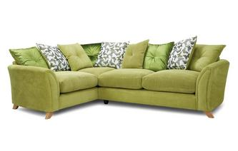 Pillow Back Right Hand Facing 3 Seater Corner Sofa Eloise