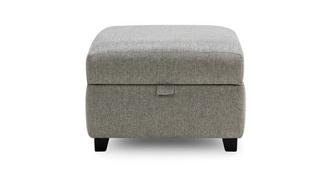 Elva Plain Storage Footstool