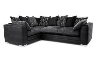 Pillow Back Right Hand Facing Supreme Corner Sofa Bed