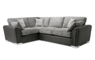 Formal Back Right Hand Facing 3 Seater Corner Sofa