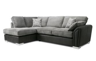 Formal Back Right Hand Facing 3 Seater Open End Corner