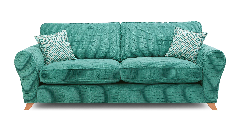 Emilia Formal Back 4 Seater Sofa Ariella | DFS