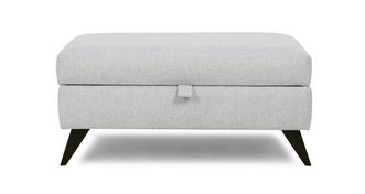 Emote Large Rectangular Storage Footstool