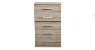 Encore 5 Drawer Chest