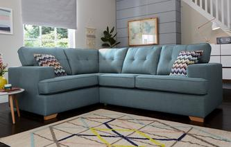 Enzo Right Hand Facing 2 Seater Corner Sofa Revive